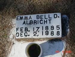 Emma D. <i>Bell</i> Albright