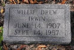 Willie Drew Irwin