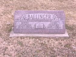 Josephine <i>McCoy</i> Ballinger