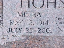Melba <i>Goss</i> Hohstadt