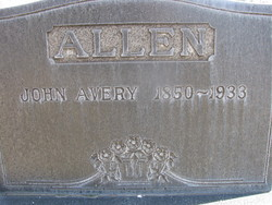 John Avery Allen