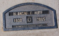 Blanche Emaline <i>Kinserlow</i> Huff
