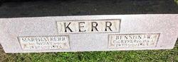 Benson William Kerr
