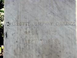 Charlotte Josephine Cummings
