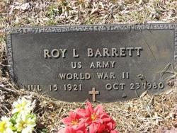 Roy Lee Barrett, Sr