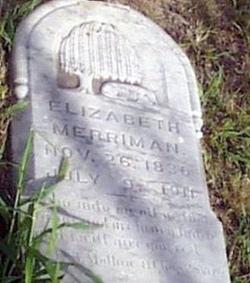 Elizabeth <i>Fusselman</i> Merriman