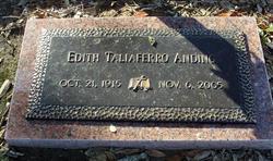 Edith <i>Taliaferro</i> Anding