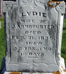 Lydie <i>Wenz</i> Armbruster
