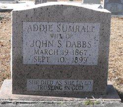 Addie <i>Sumrall</i> Dabbs