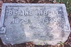 Blaine Hugh Ball