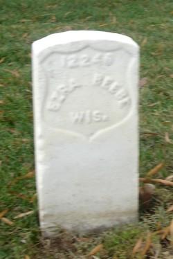 Pvt Ezra Beebe