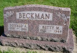 Donald A. Beckman