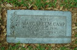 Margaret Elizabeth <i>Miller</i> Camp