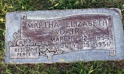 Martha Elizabeth Adair