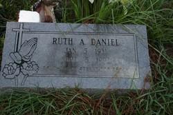 Ruth A Daniel