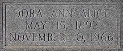 Dora Ann Alice Taylor