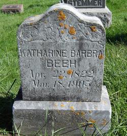 Katherine Barbra <i>Wenz</i> Beeh