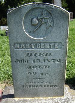 Mary <i>Hilgerman</i> Bente