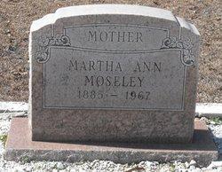 Martha Ann Moseley