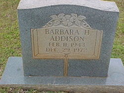Barbara H Addison