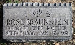 Rose <i>Siegel</i> Braunstein