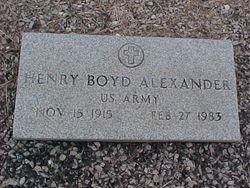 Henry Boyd Alexander