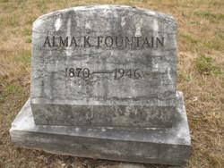 Alma E. <i>Keeling</i> Fountain