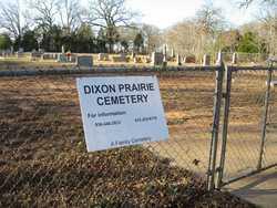 Dixon Prairie Cemetery