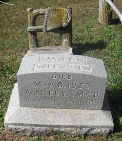 Mary Catherine <i>James</i> Withrow