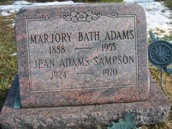 Marjorie <i>Bath</i> Adams