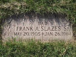 Frank Anthony Slazes, Sr