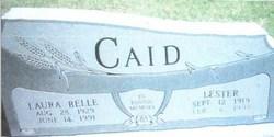 Laura Belle <i>Fox</i> Caid
