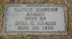 Hattie Hortense <i>Marion</i> Adams
