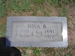Nina B <i>Bradley</i> Adkins