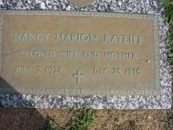 Nancy Marion Ratliff