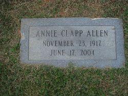 Annie Delithan <i>Clapp</i> Allen