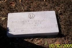 Lieut Benjamin F. Cleveland, Jr