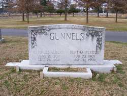 Bertha <i>Perdue</i> Gunnels
