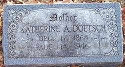 Katherine Anna <i>Euler</i> Doetsch