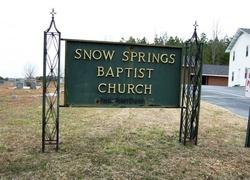 Snow Springs Baptist Church Cemetery
