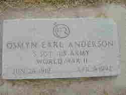 Osmyn Earl Anderson