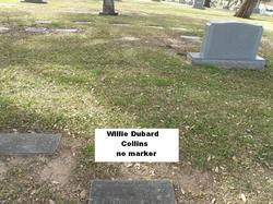 Willie <i>DuBard</i> Collins