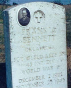 Sgt Frank 'Amapalla' Bennett