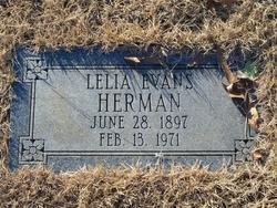 Lelia <i>Evans</i> Herman