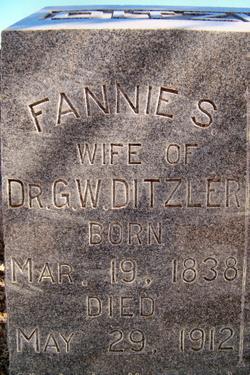 Fannie S Ditzler
