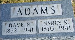 Nancy Katherine <i>Butler</i> Adams