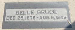 Lucy Gertrude Isabelle <i>Aday</i> Bruce