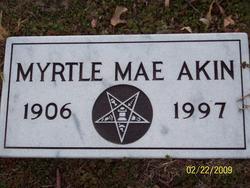 Myrtle Mae Akin