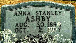 Anna <i>Stanley</i> Ashby