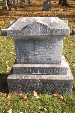 Abigail <i>Meadows</i> Mutton